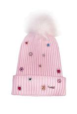 Bari Lynn BL Jewel Beanie Light pink