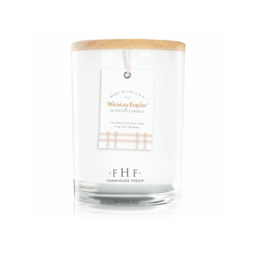 Farmhouse Fresh Whiskey Bonfire Candle