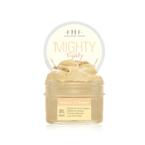 Farmhouse Fresh Mighty Tighty Turmeric & Banana Tightening Mask