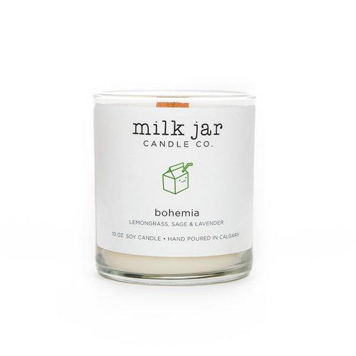 Milk Jar Bohemia - Lemongrass, Lavender & Sage