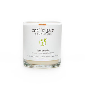 Milk Jar Lemonade - Coconut, Lime, Verbena & Pine