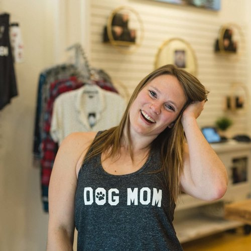 PJ Salvage Slate Anything Is Paw-ssible Dog Mom