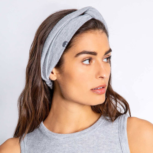 PJ Salvage Heather Grey Skull Headband