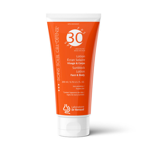 Laboratoire Dr Renaud SunBlock Lotion Broad Spectrum SPF 30