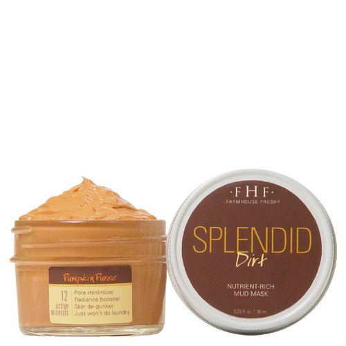 Farmhouse Fresh Splendid Dirt Pumpkin Mask