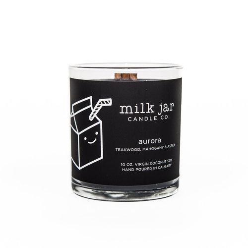 Milk Jar Milk Jar - Aurora - Teakwood, Mahogany, & Aspen