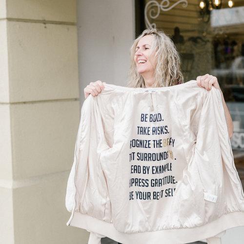 PJ Salvage Love Life Solid Jacket