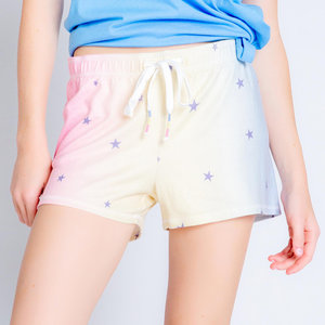PJ Salvage Peachy Party Stars Shorts