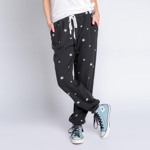PJ Salvage Daily Doodle Stars Banded Pant