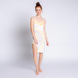 PJ Salvage Modal Sunburst Tie Dye Dress