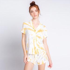 PJ Salvage Modal Sunburst Tie Dye PJ Set