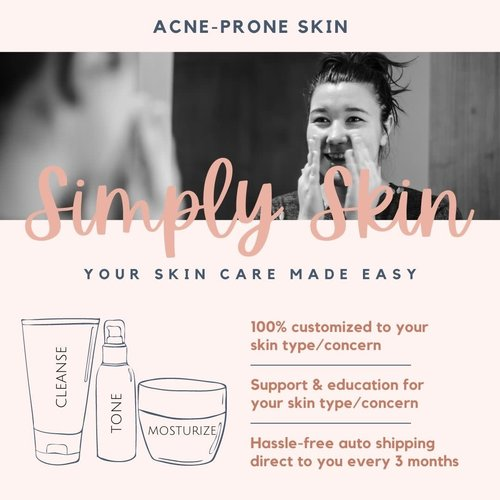 Acne Prone Skin Care - Simply Skin Program