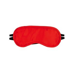 SATIN BLINDFOLD RED