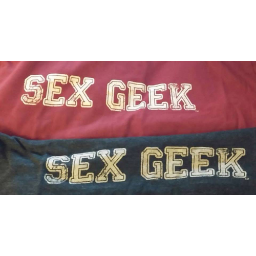 SEX GEEK TSHIRT