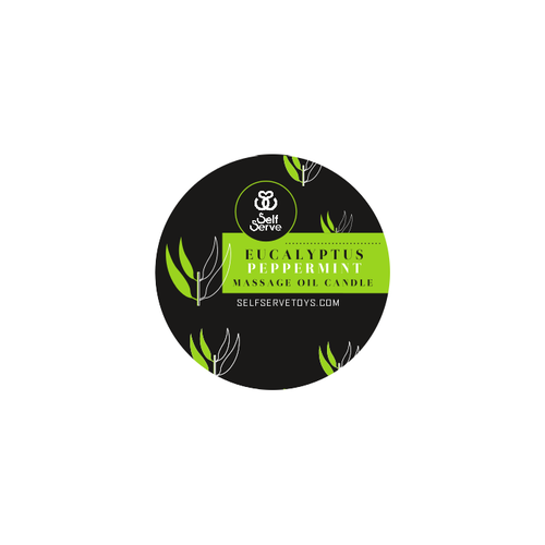 EUCALYPTUS PEPPERMINT MASSAGE CANDLE SMALL