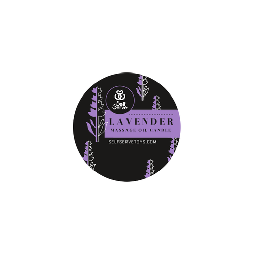 LAVENDER MASSAGE CANDLE SMALL