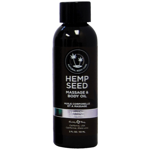 LAVENDER HEMP MASSAGE OIL