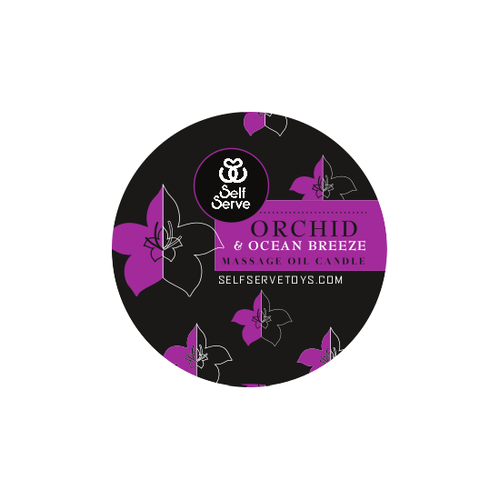 ORCHID & OCEAN BREEZE MASSAGE CANDLE SMALL