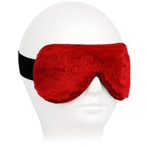 BLINDFOLD LEATHER WITH FLEECE