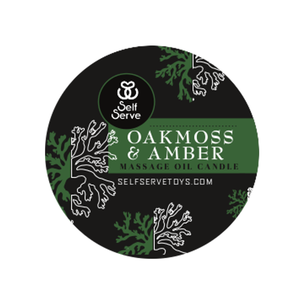 OAKMOSS & AMBER MASSAGE CANDLE LARGE