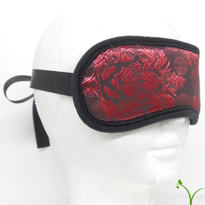 EMBROIDERED BLINDFOLD