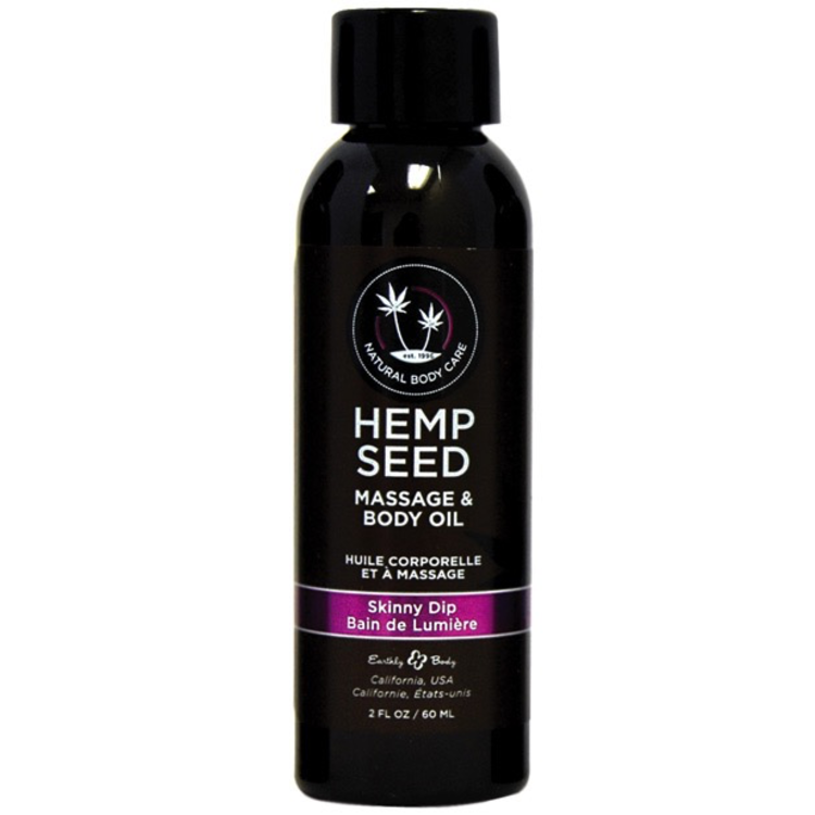 SKINNY DIP HEMP MASSAGE OIL
