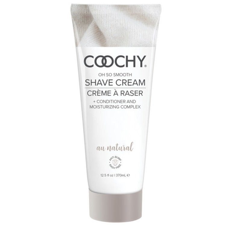SILKY SHAVE CREAM UNSCENTED 12.5oz