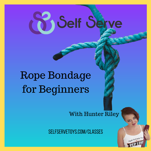 ROPE BONDAGE FOR BEGINNERS
