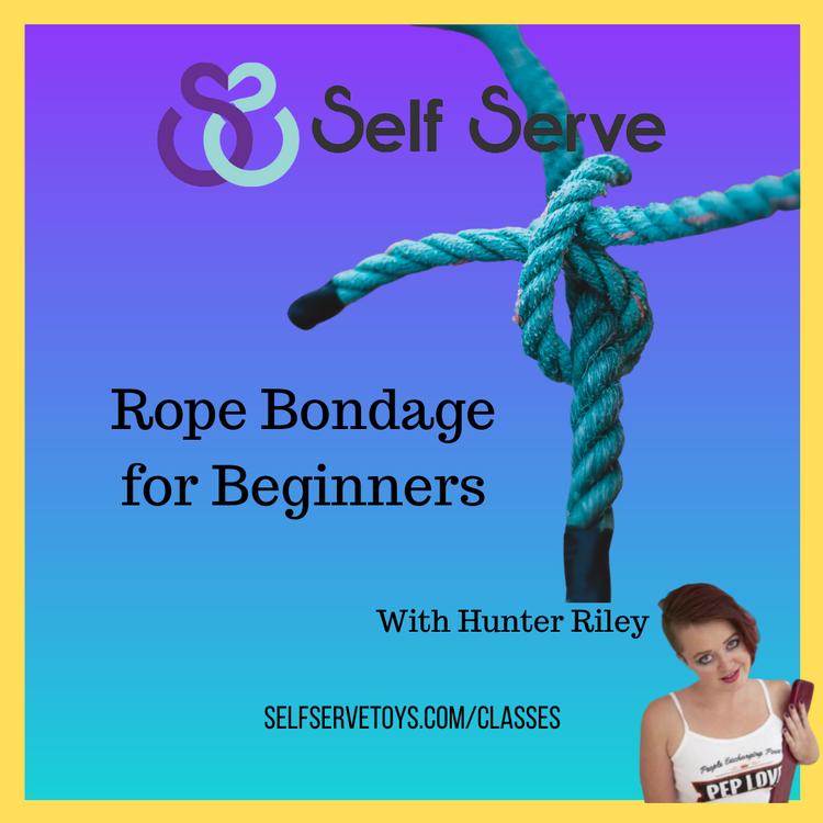 ROPE BONDAGE FOR BEGINNERS