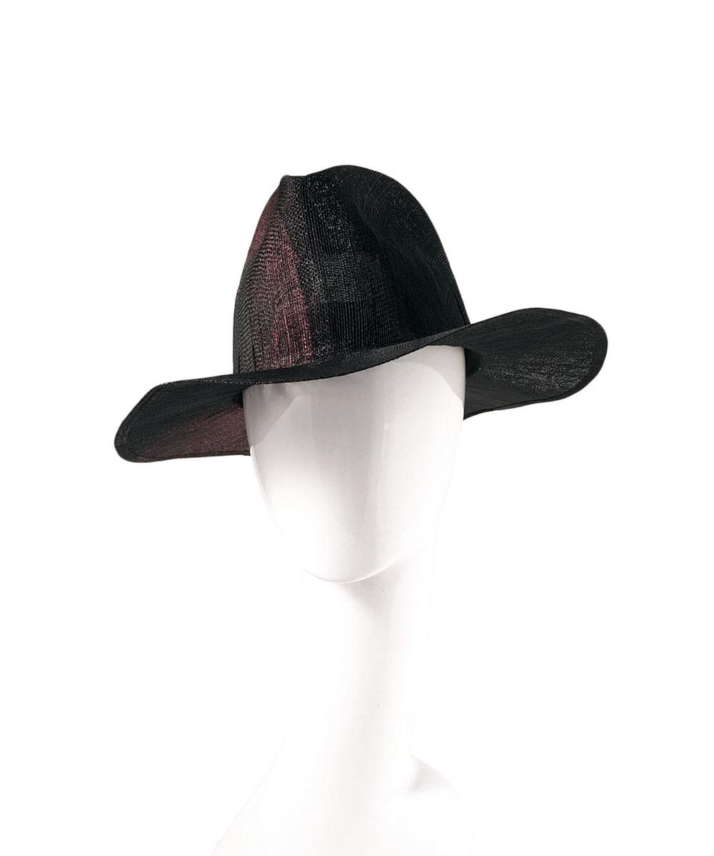 LAILA OPEN SISAL STRAW HAT