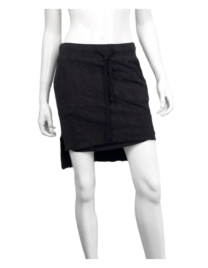 THOM KROM SHORT SKIRT IN BUBBLE FABRIC