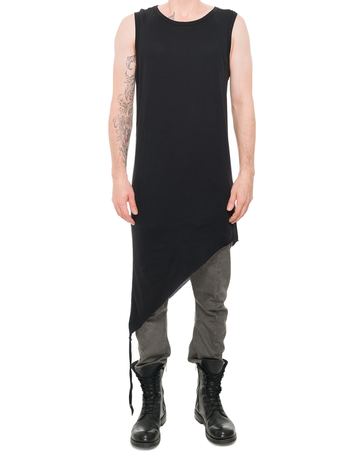 ARMY OF ME SIDE STRINGED TANK TOP 33 - GRAPHITE