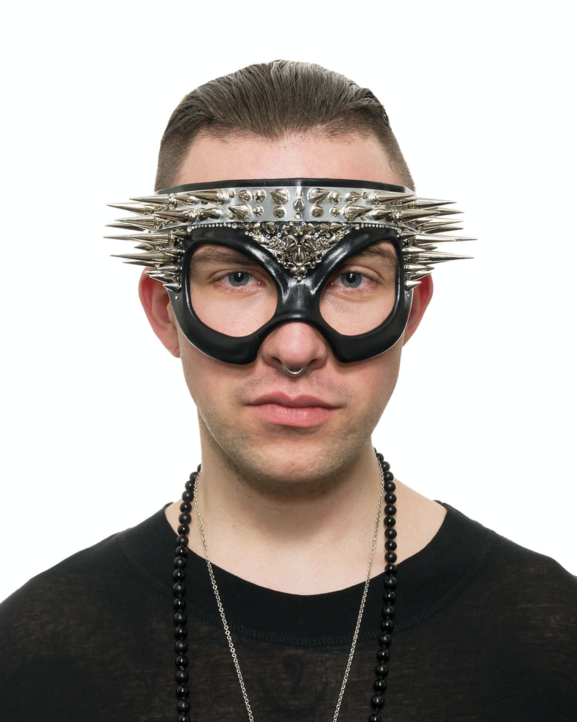 SPIKE CROWN FACEMASK
