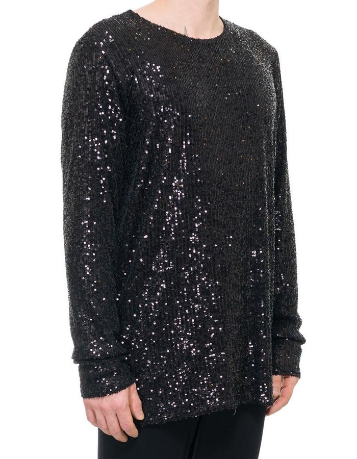 DAVIDS ROAD SEQUIN LONG SLEEVE TOP