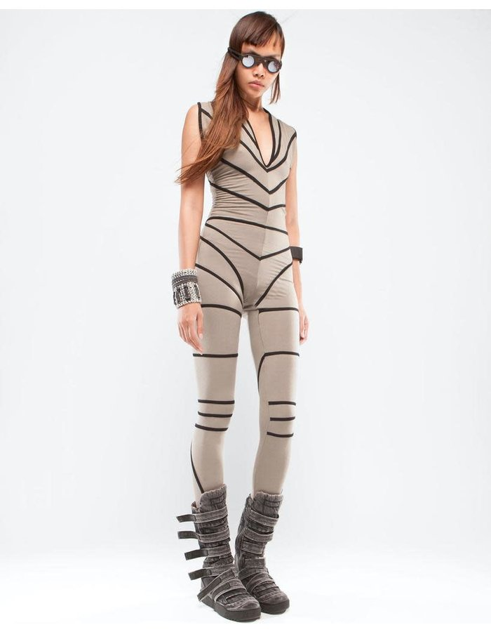 DEMOBAZA BODY SUIT BUTTERFLY
