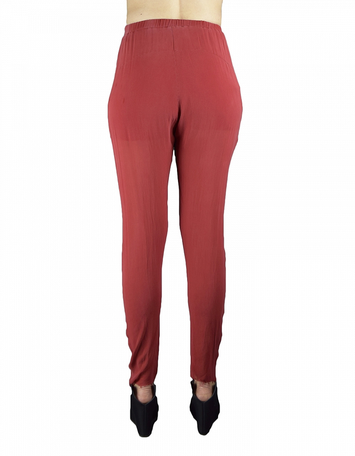 LOST AND FOUND SOFT POCKET PANT - RED