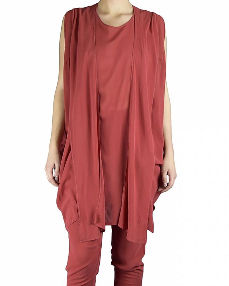 TUNIC DRESS RED