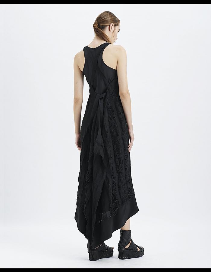 MASNADA DECAY PANEL PINAFORE DRESS