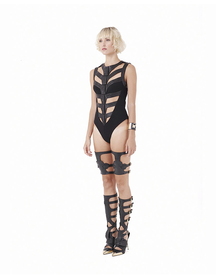 GELAREH DESIGNS ONYX  BODY SUIT