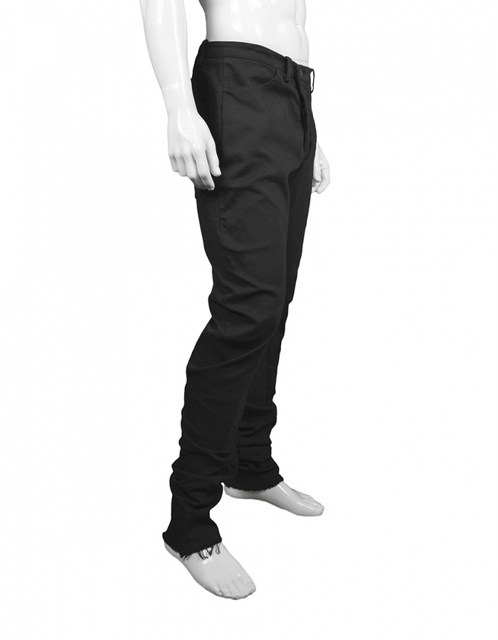 LOST AND FOUND ROOMS DIAGONAL FLY SLIM PANT