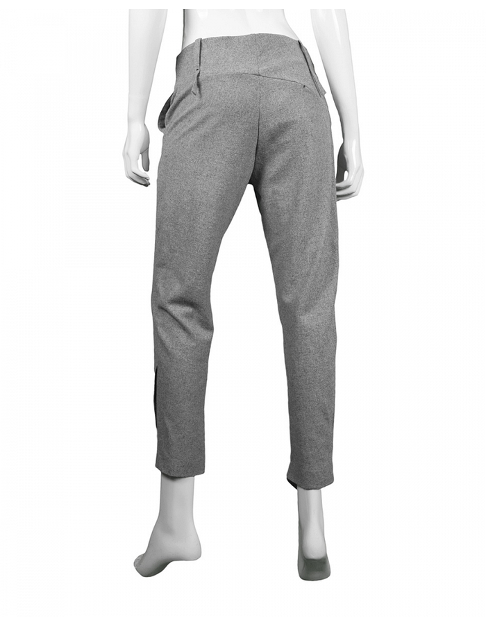 LOST AND FOUND SLIM PANT GREY