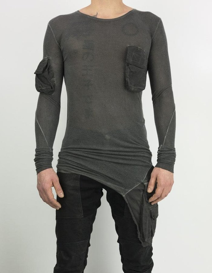 ARMY OF ME MULTI POCKETED JERSEY T - ANTRACITE