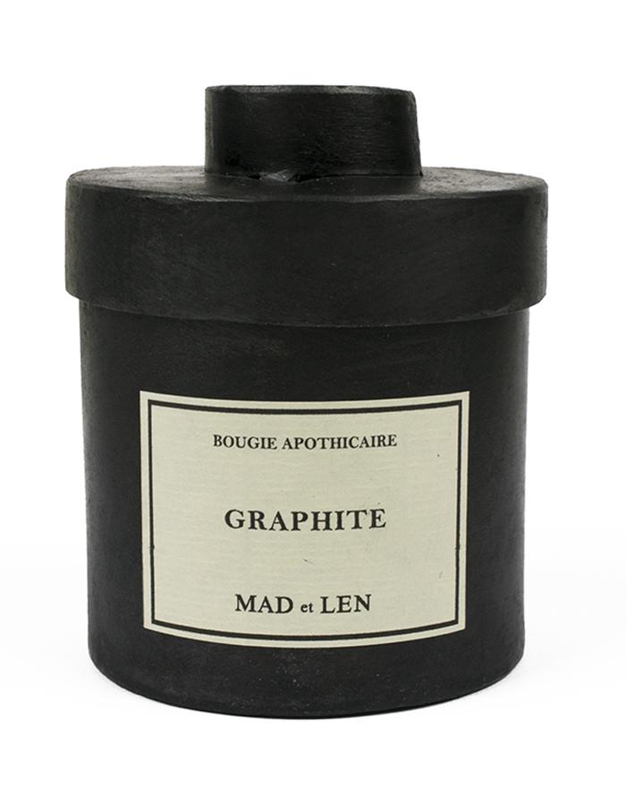 MAD ET LEN CANDLE GRAPHITE 300g