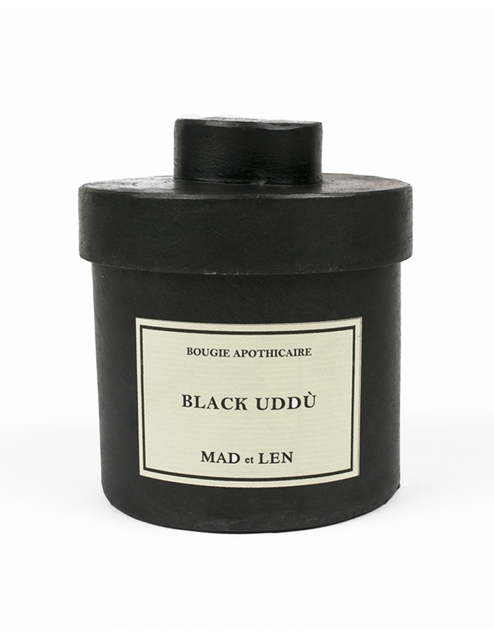 MAD ET LEN CANDLE BLACK UDDU 300g