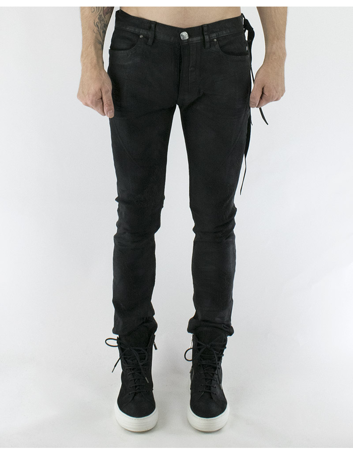 FAGASSENT SECOND SKIN COATED JEANS
