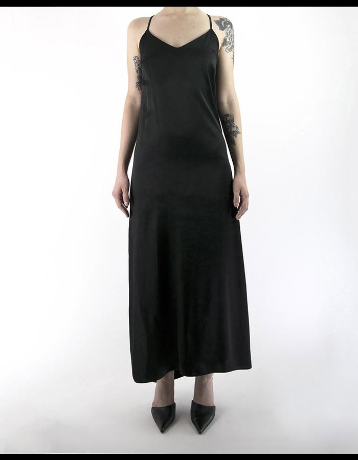 ANDREA YAAQOV OPEN BACK LONG DRESS