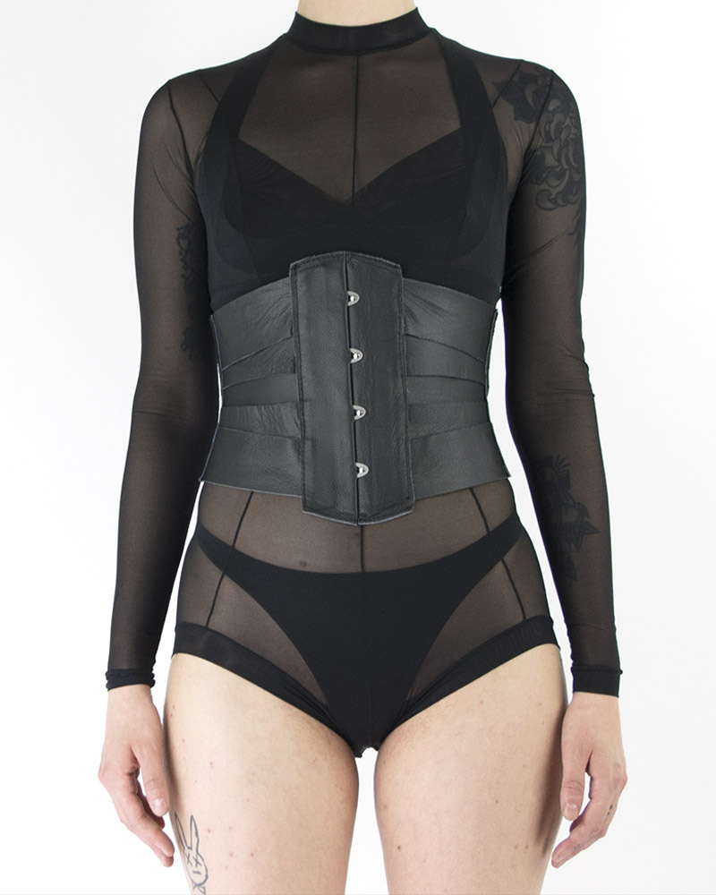 LACE UP WAIST CINCHER