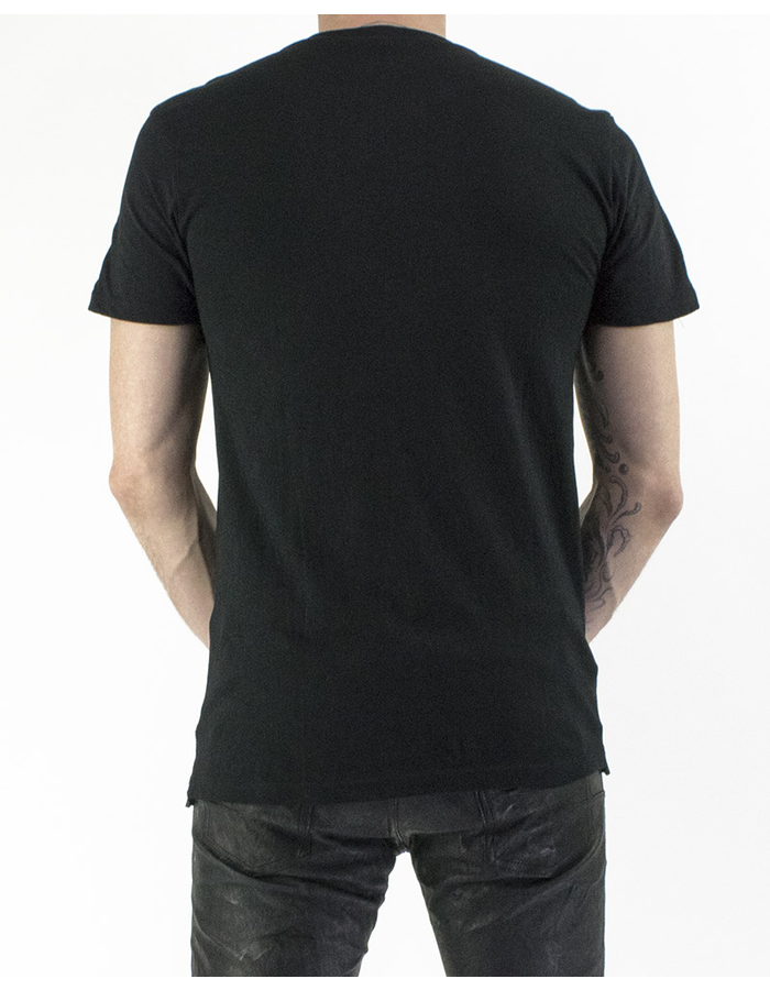 M-OJO RISIN' BREATHING LEATHER T-SHIRT - ROMBINO