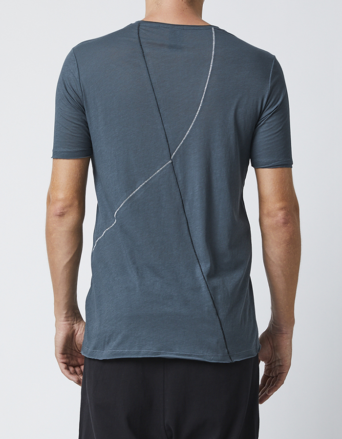 THOM KROM T-SHIRT WITH STITCH DETAILS - MOLD