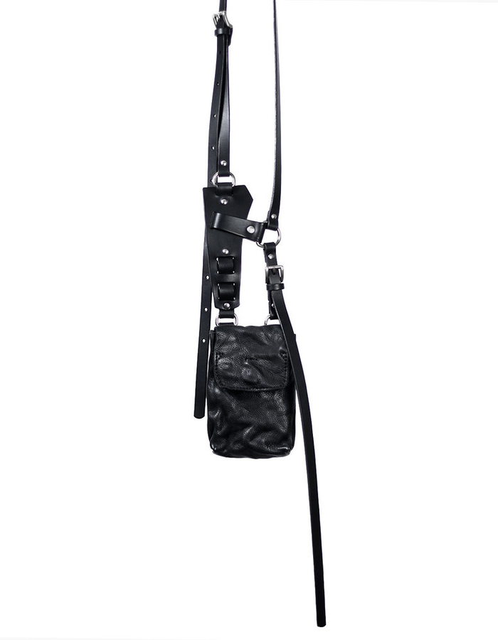 TEO + NG AMIT LEATHER HARNESS BAG